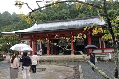 鞍馬寺の本殿