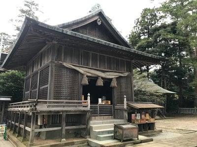 水若酢神社の本殿