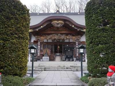 野坂寺の本殿