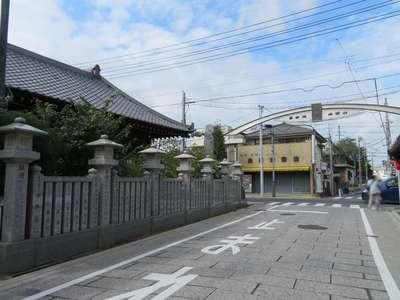 成田山川越別院の周辺