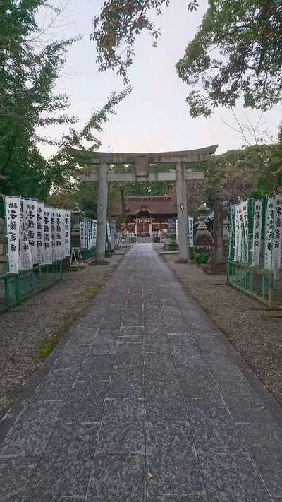 手力雄神社の鳥居