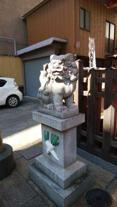 福生院の狛犬