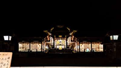 諏訪大社上社本宮の本殿