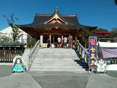 富知六所浅間神社の本殿