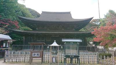 功山寺の本殿