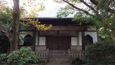 竹園山最勝寺教学院の本殿