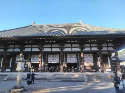 唐招提寺の本殿