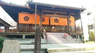 円徳寺の本殿