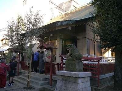 皆中稲荷神社の本殿