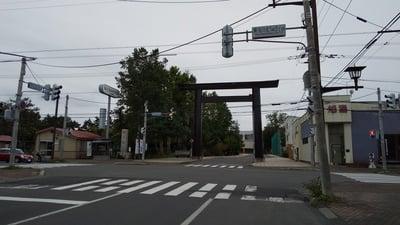 旭川神社の鳥居