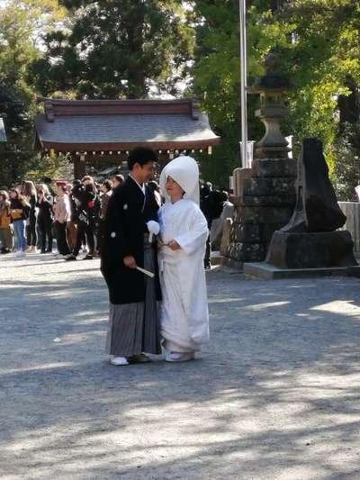 筑波山神社の結婚式