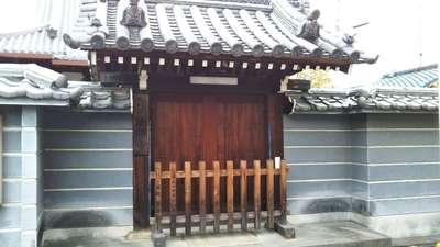 宝圓寺の山門