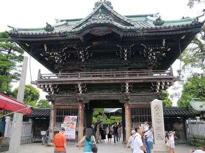 題経寺(柴又帝釈天)の山門