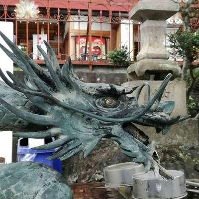 第六天神社の狛犬