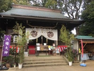 太子堂八幡神社の本殿