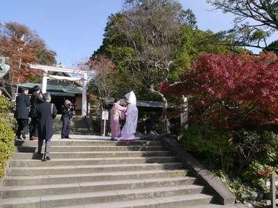 鎌倉宮の結婚式