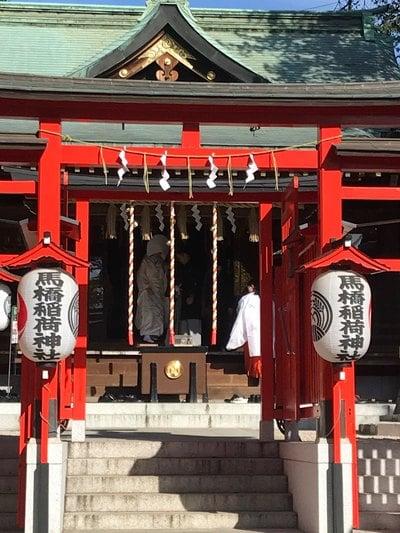 馬橋稲荷神社の結婚式