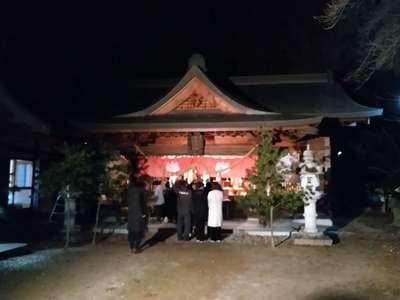 鈿女神社の本殿