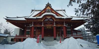 眞久寺の本殿