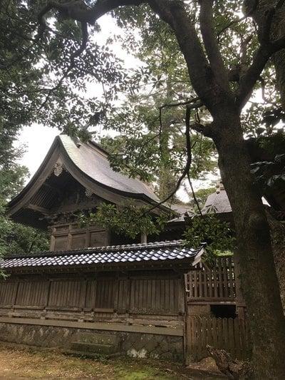 倭文神社の本殿