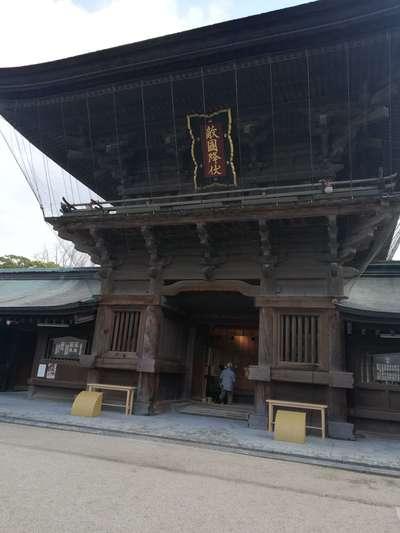 筥崎宮の本殿