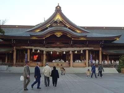 寒川神社の本殿