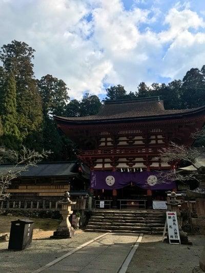 丹生都比売神社の本殿