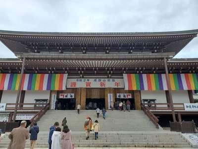 成田山新勝寺の本殿