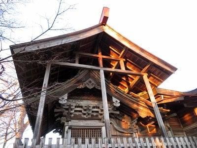 石都々古和気神社の本殿