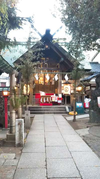 三島神社の本殿