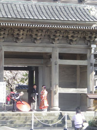 光明寺の結婚式