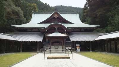 前神寺の本殿