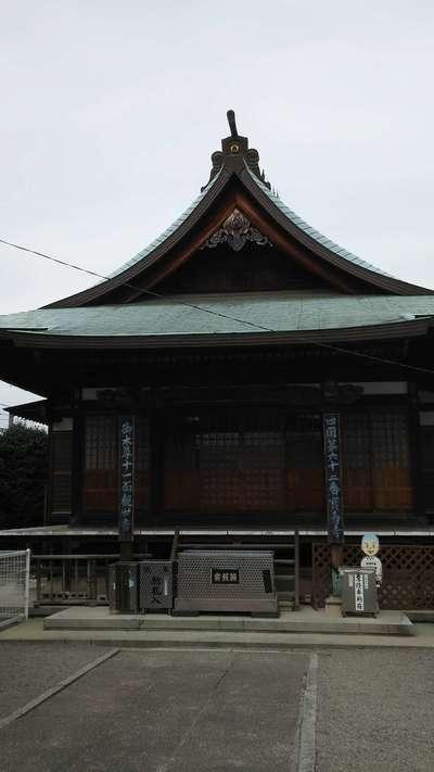 宝寿寺の本殿