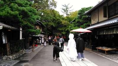今宮神社の結婚式