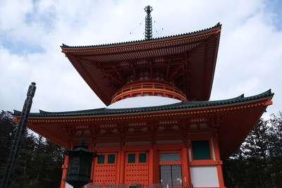 高野山金剛峯寺の本殿