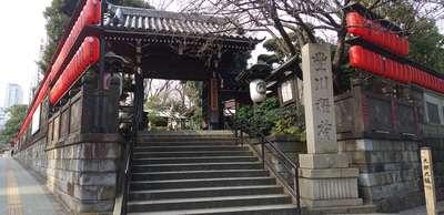 豊川稲荷東京別院の山門