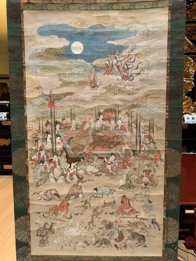 眞久寺の芸術