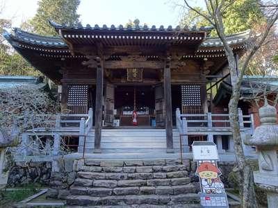 根香寺の本殿