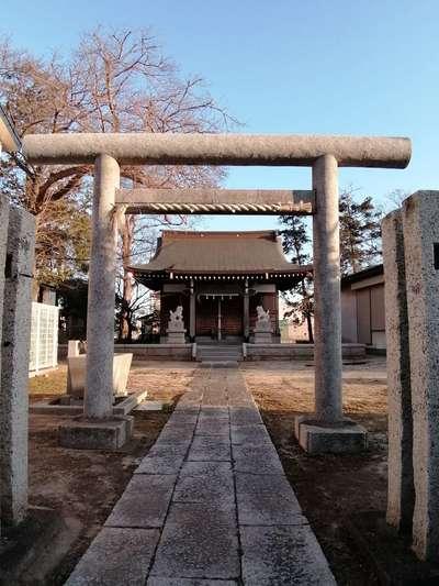 富足神社の鳥居
