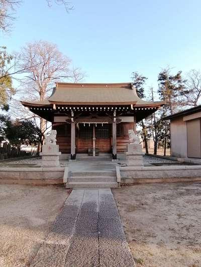富足神社の本殿