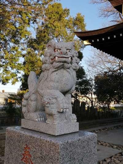 富足神社の狛犬