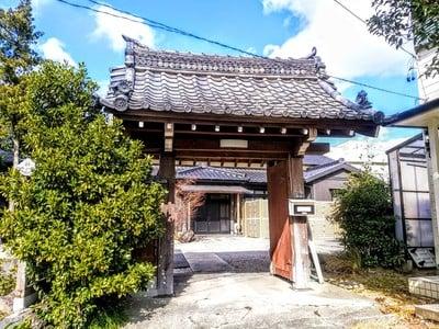 龍福寺(普照庵 龍福寺)の山門