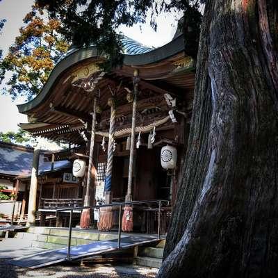 大麻比古神社の本殿