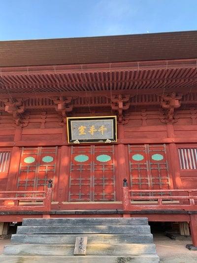 月山寺の本殿
