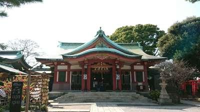 品川神社の本殿