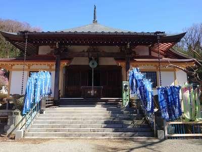 竜散寺の本殿