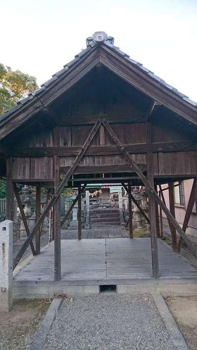 津島神社の神楽