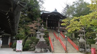 朝護孫子寺の本殿