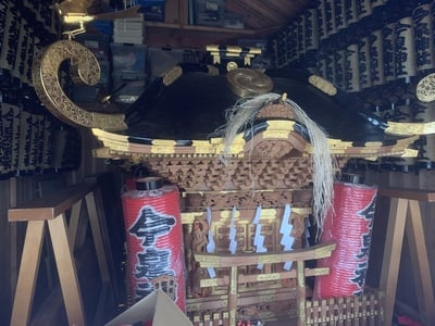 今泉神社の神楽