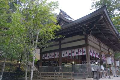 丹生川上神社(中社)の本殿